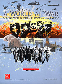 A World At War: Second World War In Europe And The Pacific Box Front