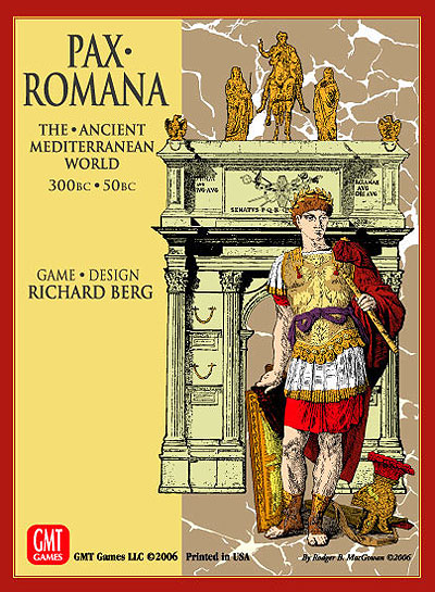 Pax Romana: The Ancient Mediterranean World Box Front