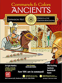 Commands And Colors: Ancients Expansion #1 - Greece & Eastern Kingdoms Box Front