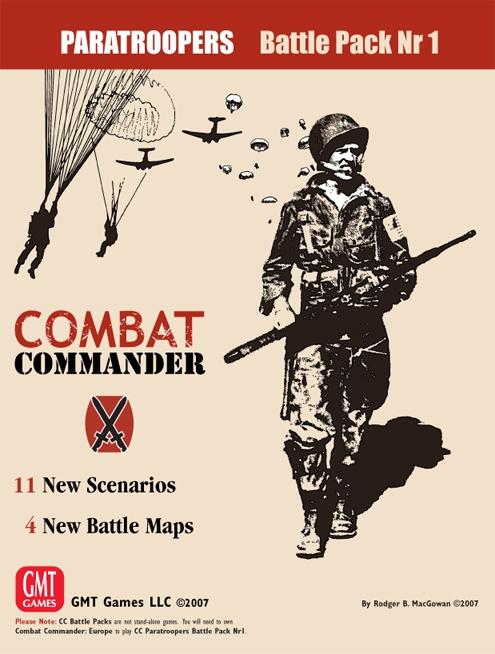 Combat Commander: Battle Pack #1 - Paratroopers Box Front