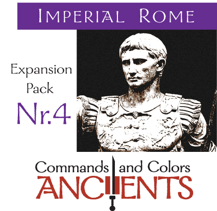 Commands And Colors: Ancients Expansion #4 - Imperial Rome Box Front
