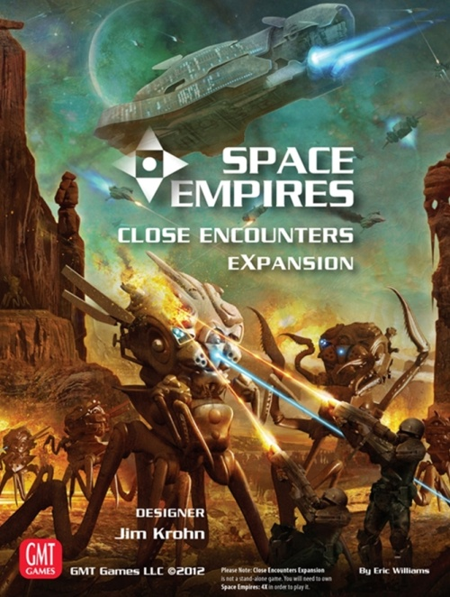 Space Empires: Close Encounters Expansion Game Box