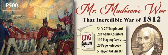 Mr. Madisons War: The Incredible War Of 1812 Box Front