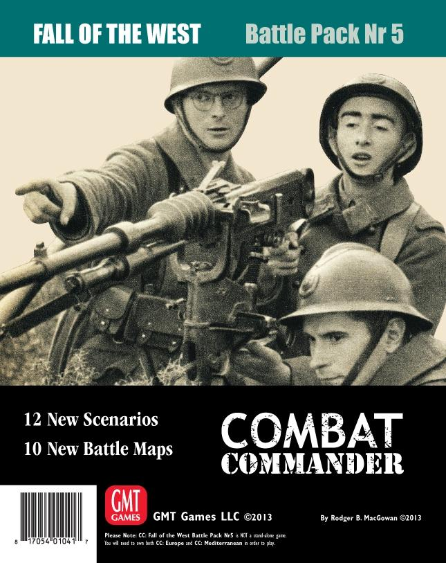 Combat Commander: Battle Pack #5 - Fall Of The West Box Front