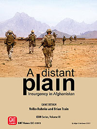 Counter Insurgencies: A Distant Plain - Conflict In Afghanistan Box Front