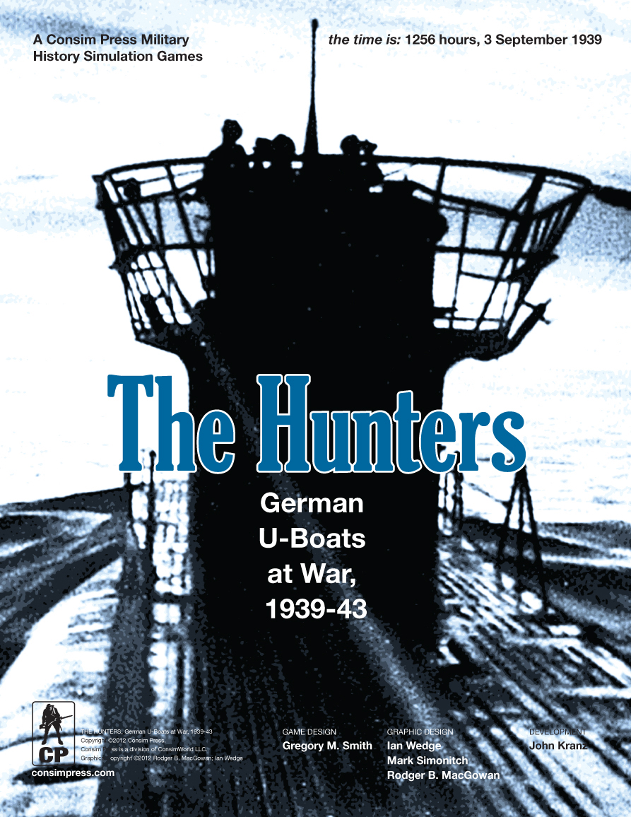 The Hunters: German U-boats At War, 1939-1943 Box Front