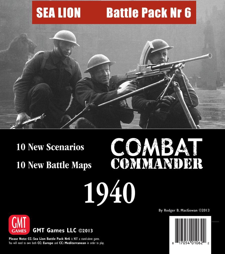 Combat Commander: Battle Pack 6 - Sea Lion Box Front