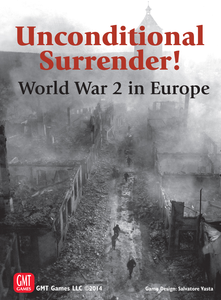 Unconditional Surrender: World War 2 In Europe Box Front