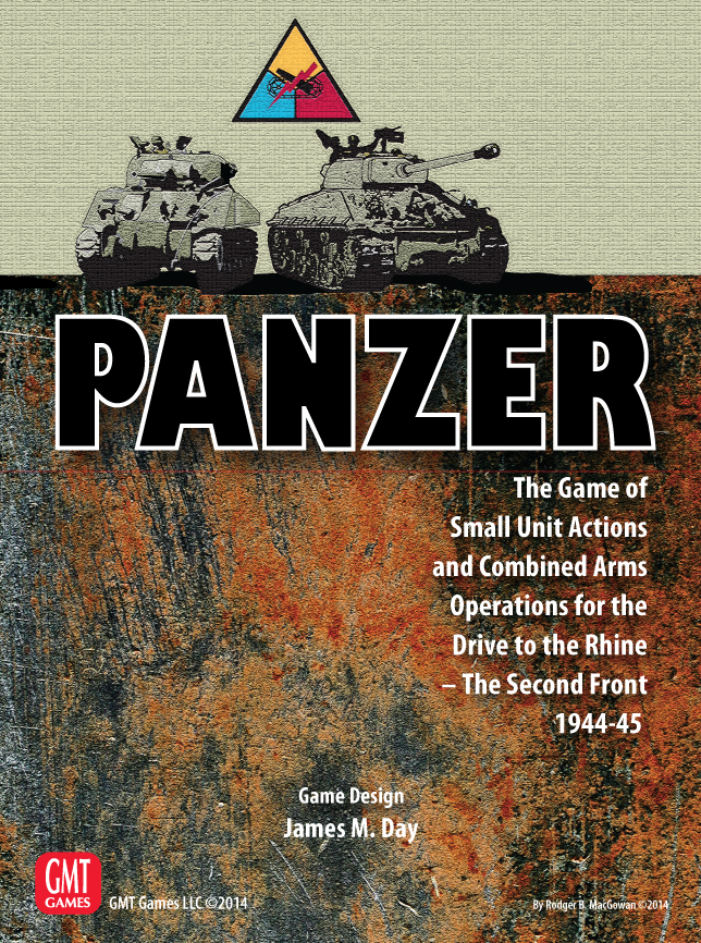 Panzer: Expansion #3 - Drive To The Rhine - The 2nd Front Box Front