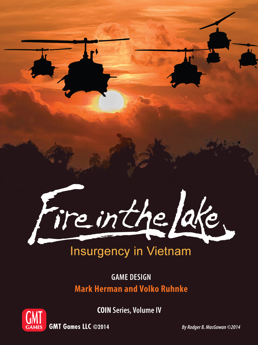 Counter Insurgencies: Fire In The Lake - Insurgency In Vietnam Box Front