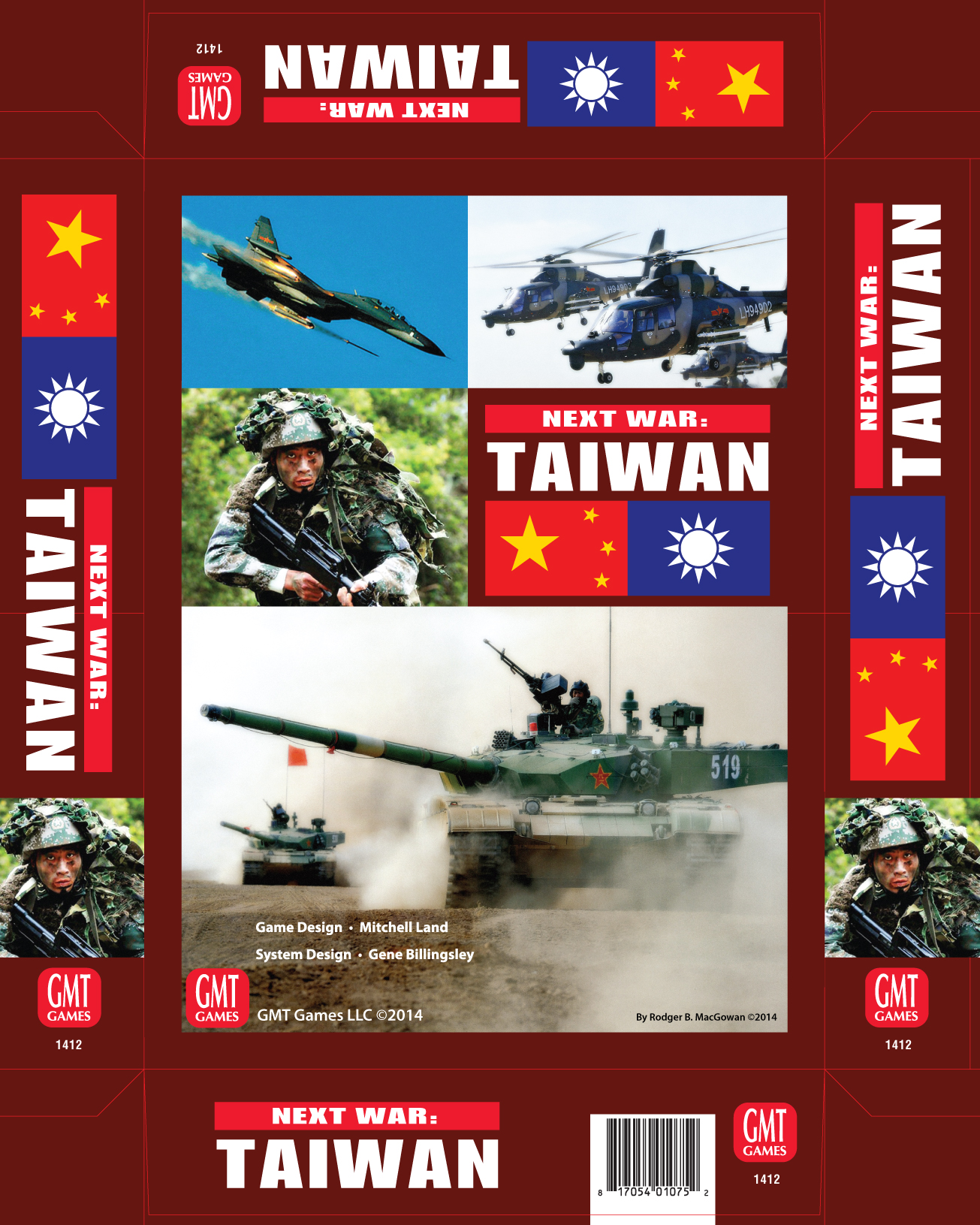 Next War: Expansion #2 - Taiwan Box Front