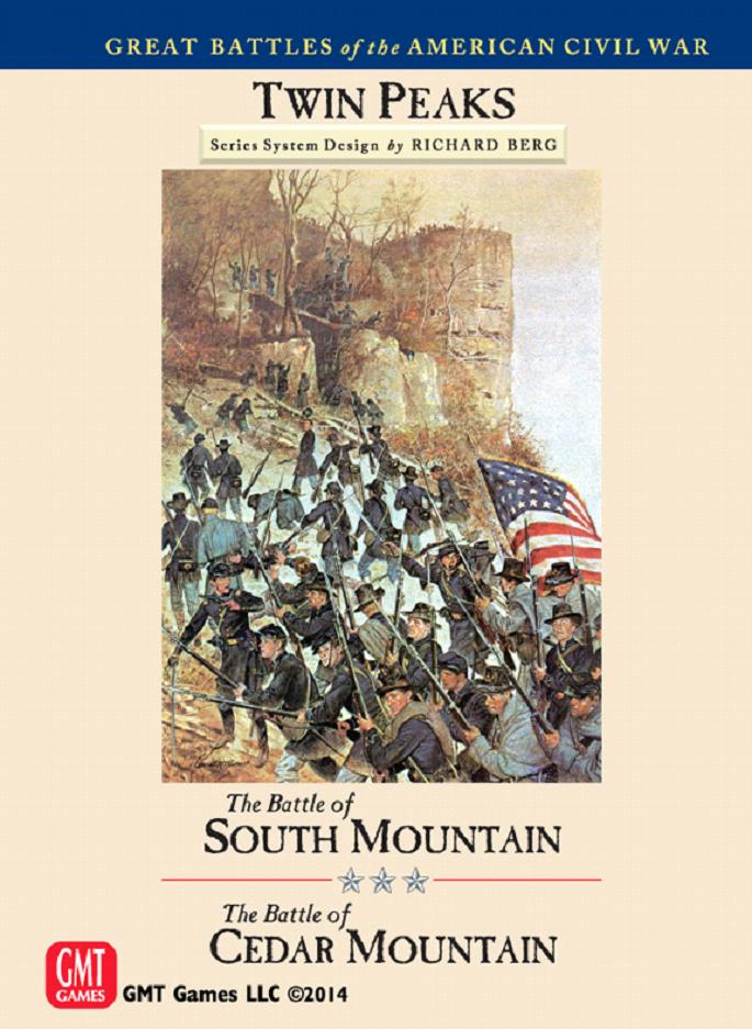 Great Battles Of The American Civil War: Twin Peaks - The Battle Of South Mountain/the Battle Of Cedar Mountain Box Front