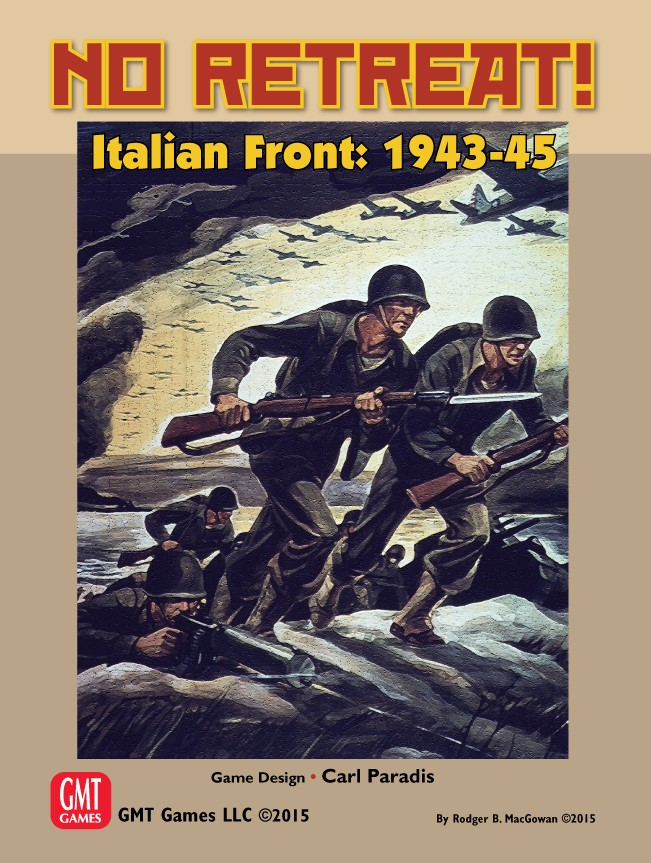 No Retreat: Expansion #4 - Italian Front, 1943-1945 Box Front