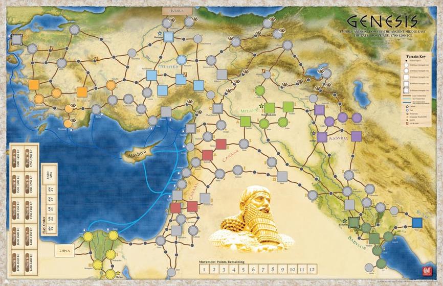 Genesis: Mounted Map Box Front