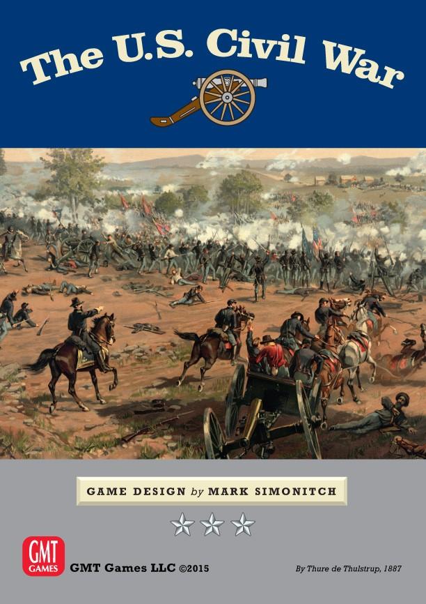 The U.s. Civil War Box Front