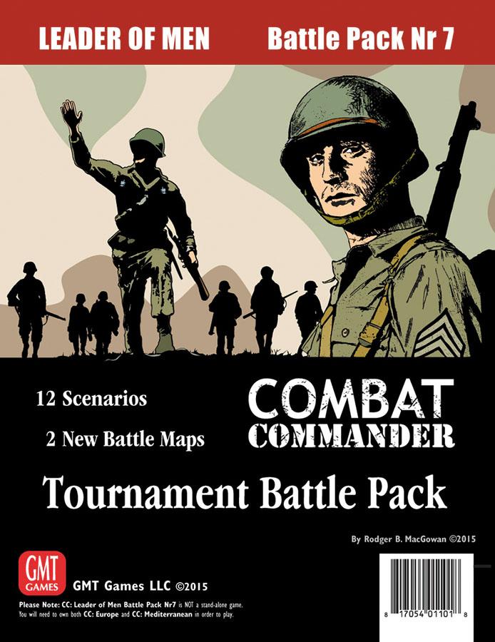 Combat Commander: Battle Pack #7 - Leader Of Men Box Front