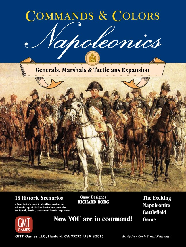 Commands And Colors: Napoleonics Expansion #5 - Generals, Marshals, Tacticians Box Front