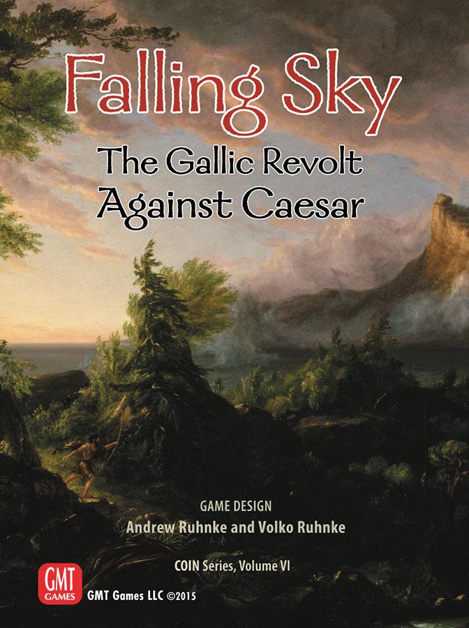 Counter Insurgencies: Falling Sky - The Gallic Revolt Against Caesar Box Front
