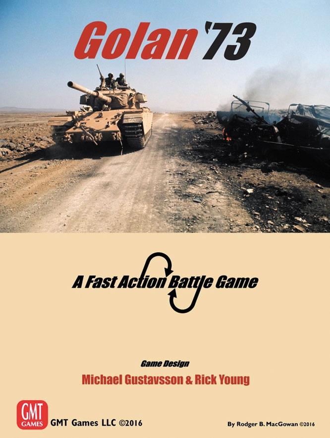 Fast Action Battle: Golan, 1973 Box Front