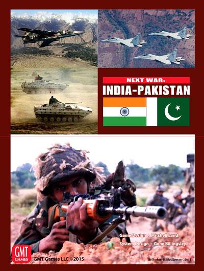 Next War: Expansion #3 - India-pakistan  Box Front