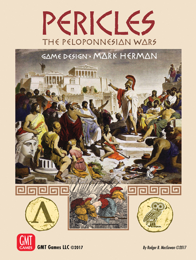 Pericles: The Peloponnessian Wars Box Front