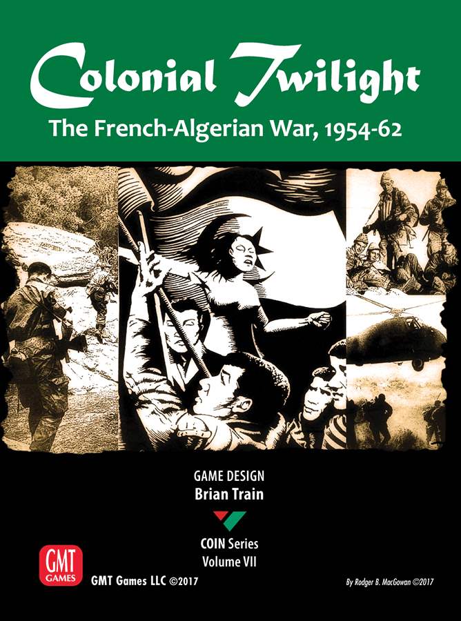 Colonial Twilight: The French-algerian War, 1954-1962 Box Front