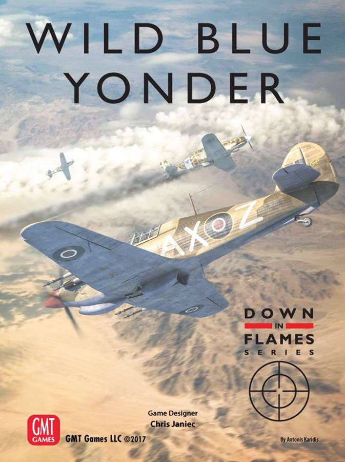 Down In Flames: Wild Blue Yonder - Plane Versus Plane Air Combat 1939-1945 Box Front