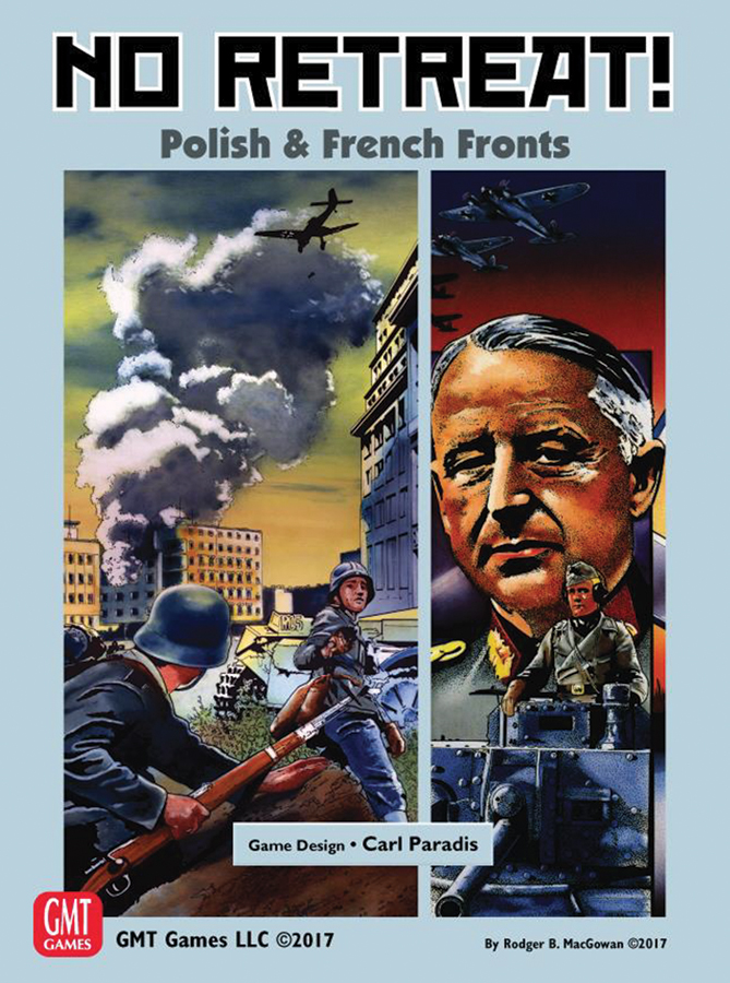 No Retreat: Polish And French Fronts Box Front