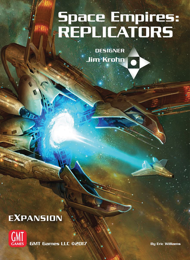 Space Empires: Replicators Expansion Box Front