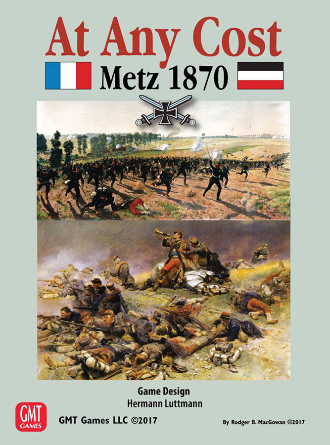 At Any Cost: Metz 1870 - The Deciding Battle Of The Franco-prussian War Box Front