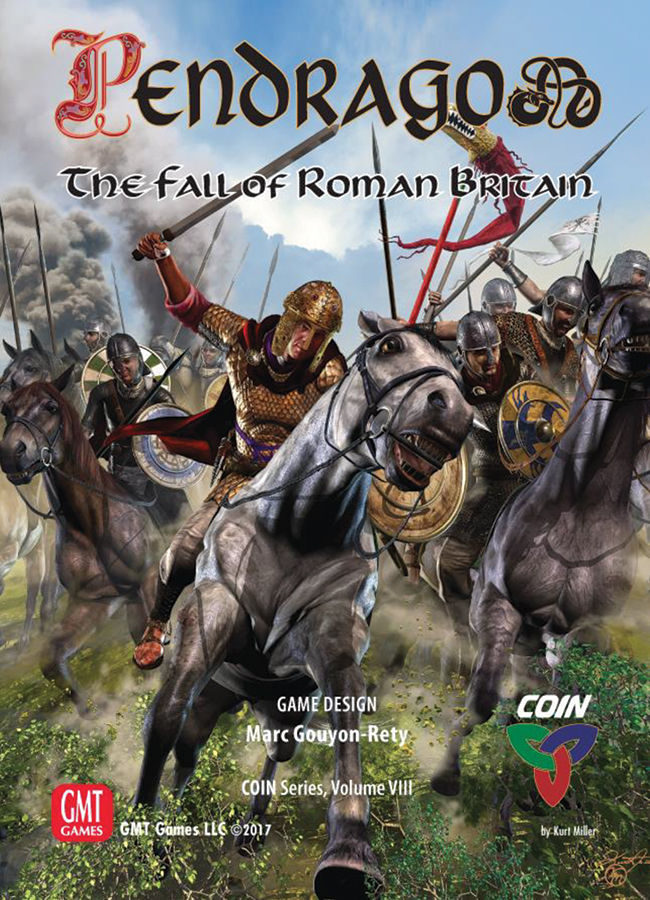 Coin: Pendragon - The Fall Of Roman Britain Box Front
