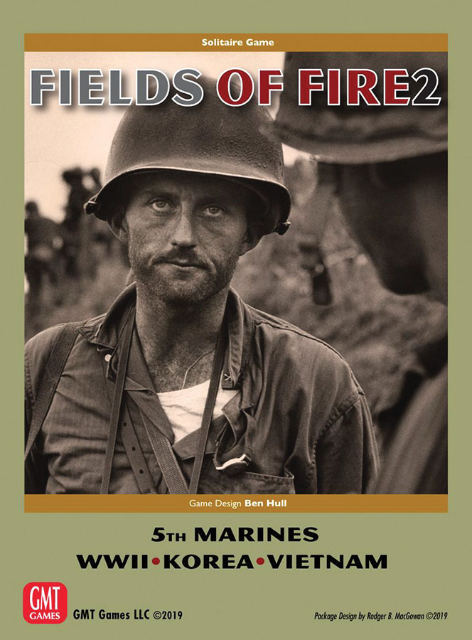 Fields Of Fire 2: With The Old Breed - The 5th Marines In Wwii, Korea And Vietnam Game Box