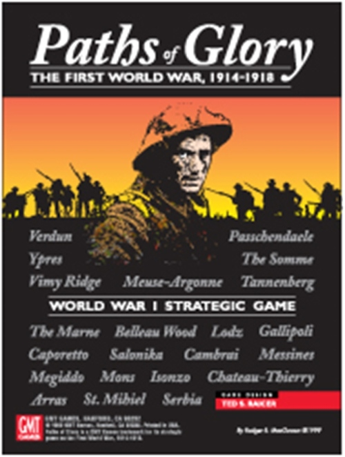 Paths Of Glory: The First World War, 1914-1918 Delxue Edition Game Box