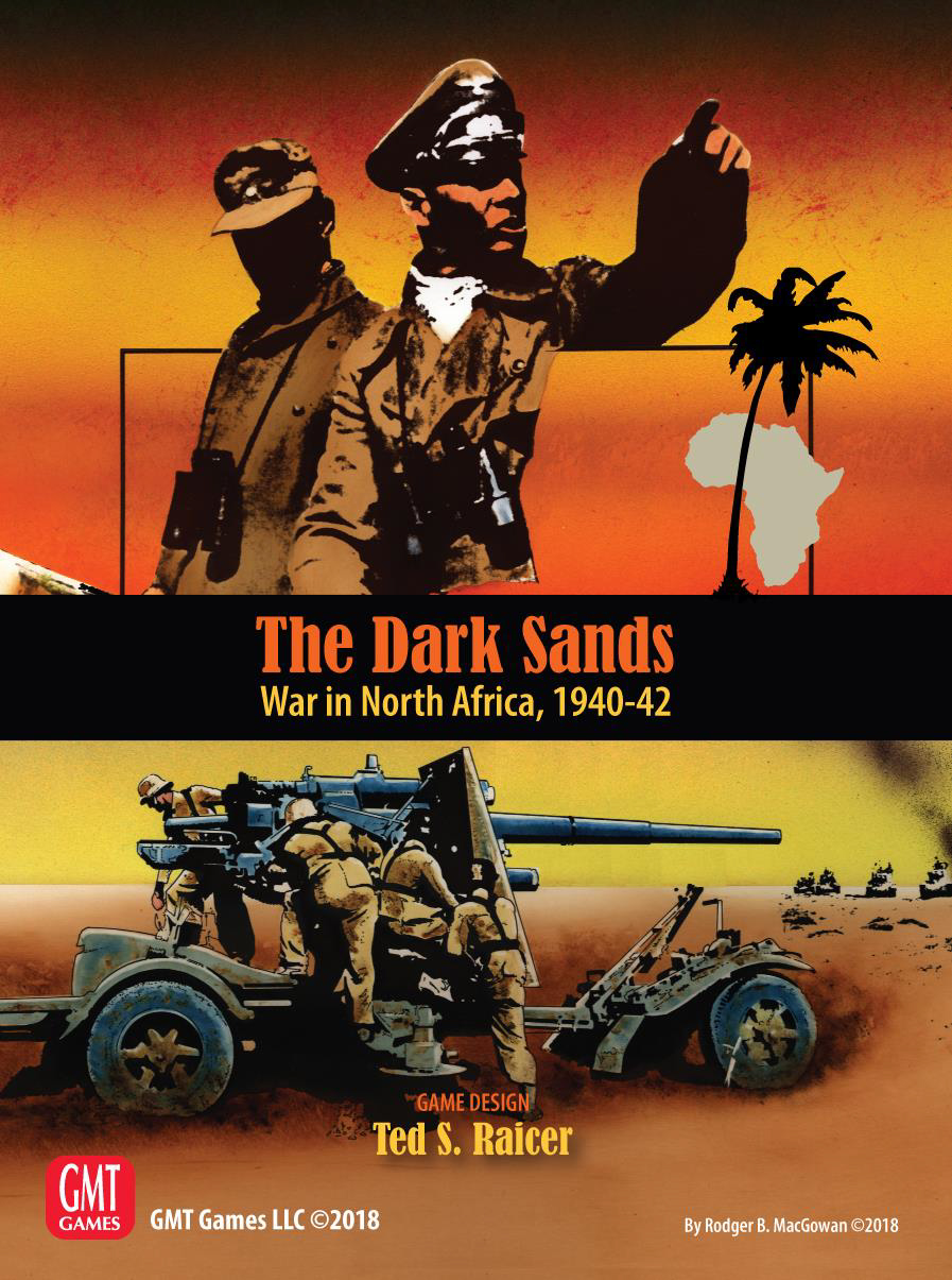 The Dark Sands: War In North Africa, 1940-42 Game Box