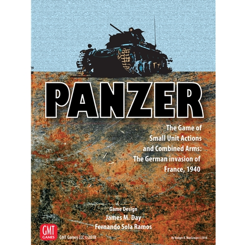 Panzer: Expansion #4 - The German Invasion Of France, 1940 Game Box