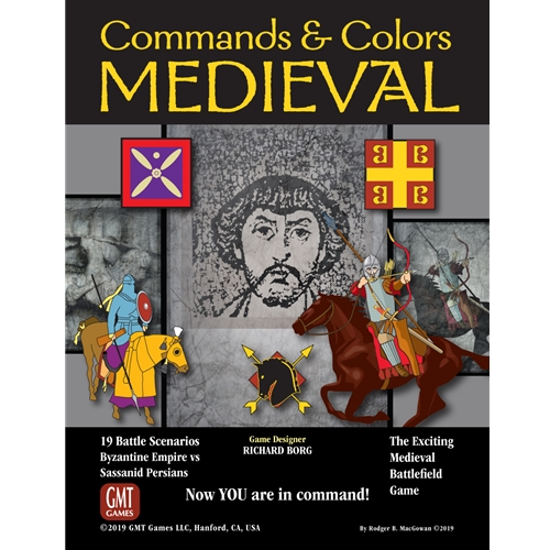 Commands & Colors: Medieval Game Box
