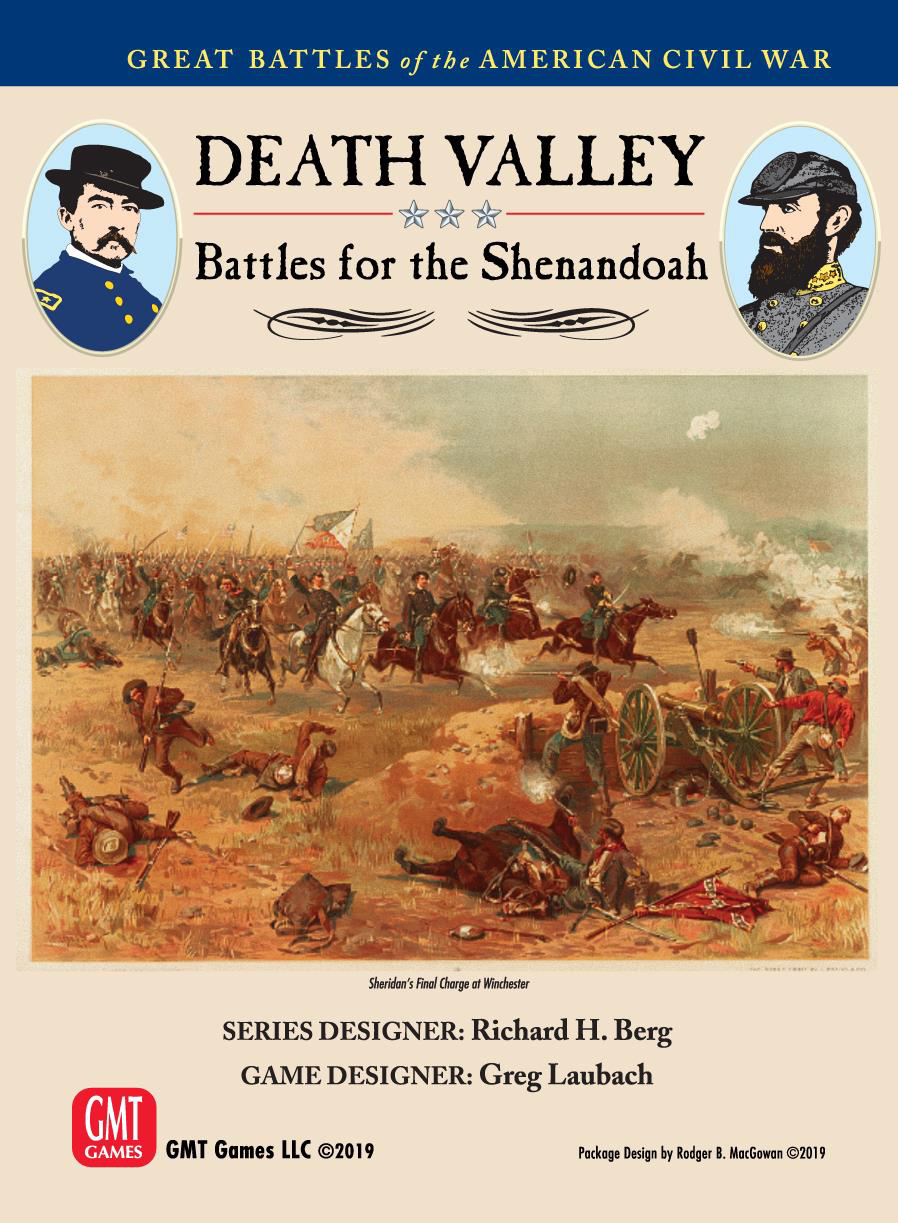 Death Valley: Battles For The Shenandoah Game Box