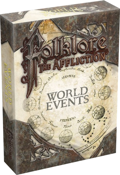 Folklore: The Affliction - World Events Box Front