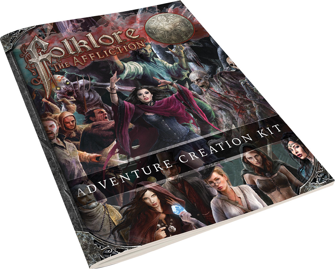 Folklore: The Aflliction - Adventure Creation Kit Game Box