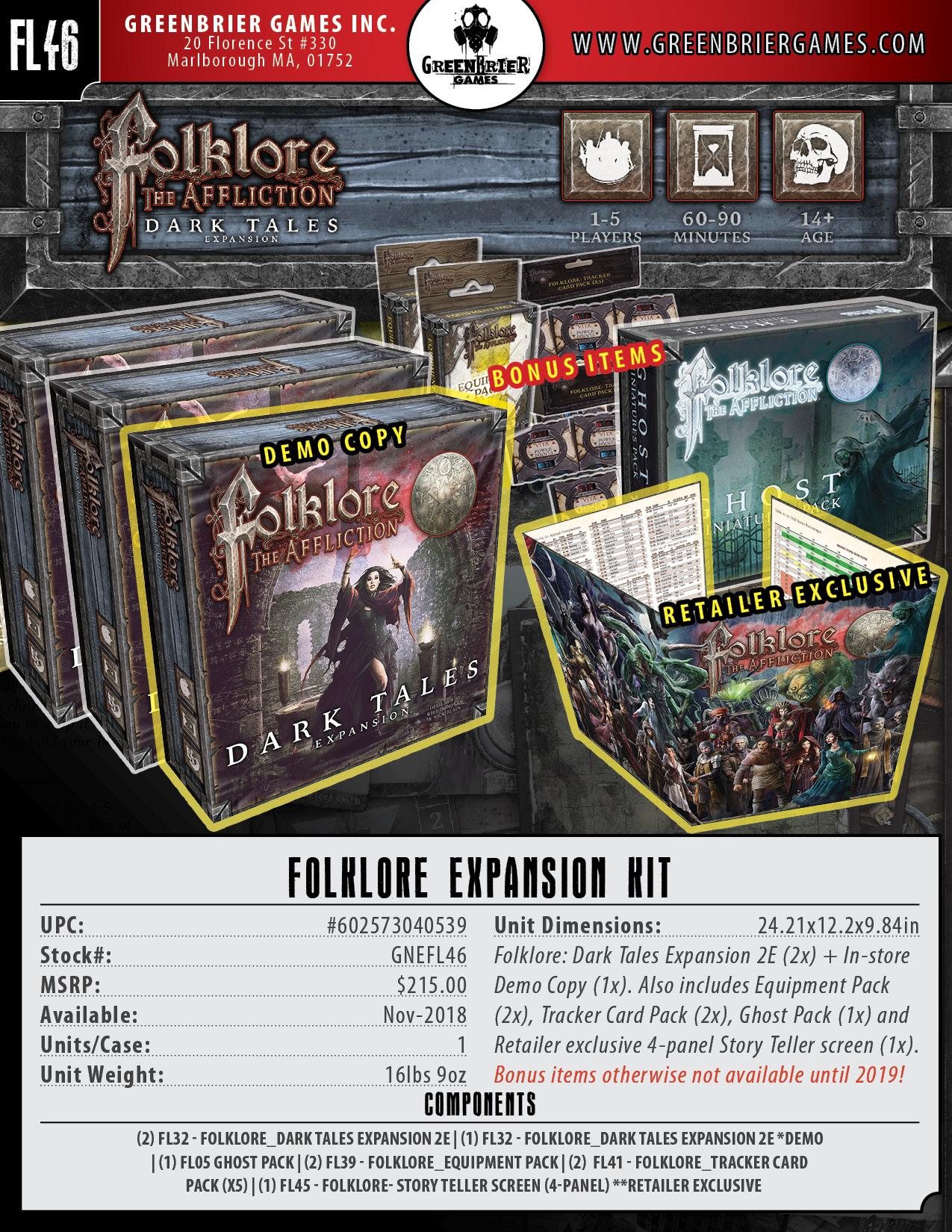 Folklore: The Affliction - Expansion Kit