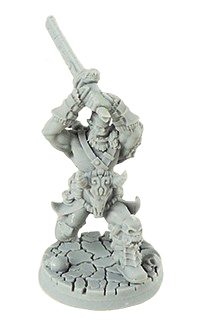 Legendary Heroes: Orc Hero 32mm Box Front