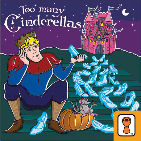 Too Many Cinderellas Box Front
