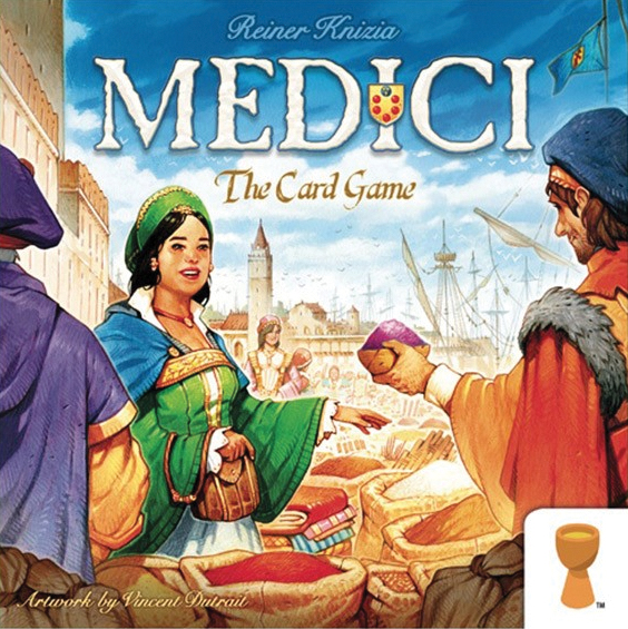 Medici: The Card Game Box Front