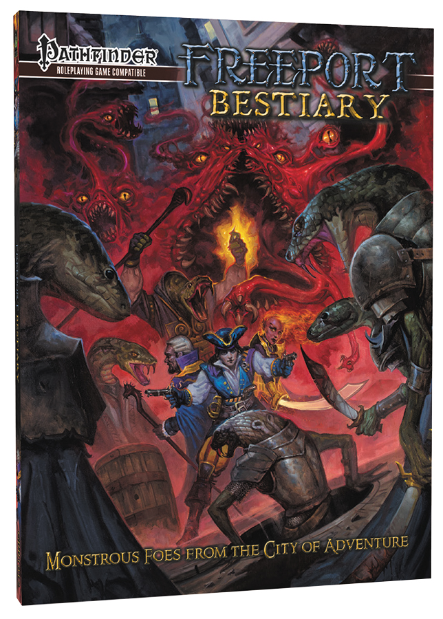 Pathfinder Rpg: Freeport Bestiary Sourcebook Box Front