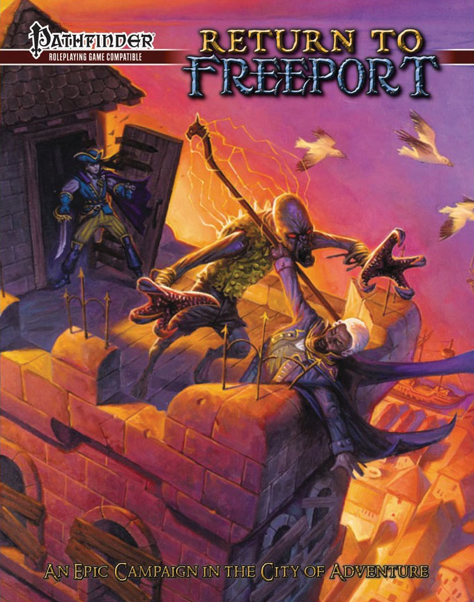 Pathfinder Rpg: Return To Freeport Game Box