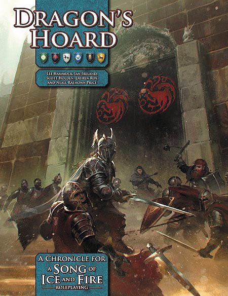 A Song Of Ice And Fire Rpg: Dragon`s Hoard Box Front