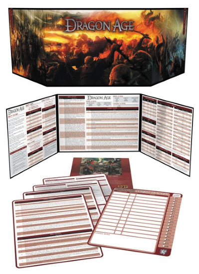 Dragon Age Rpg: Game Masters Kit (revised) Box Front