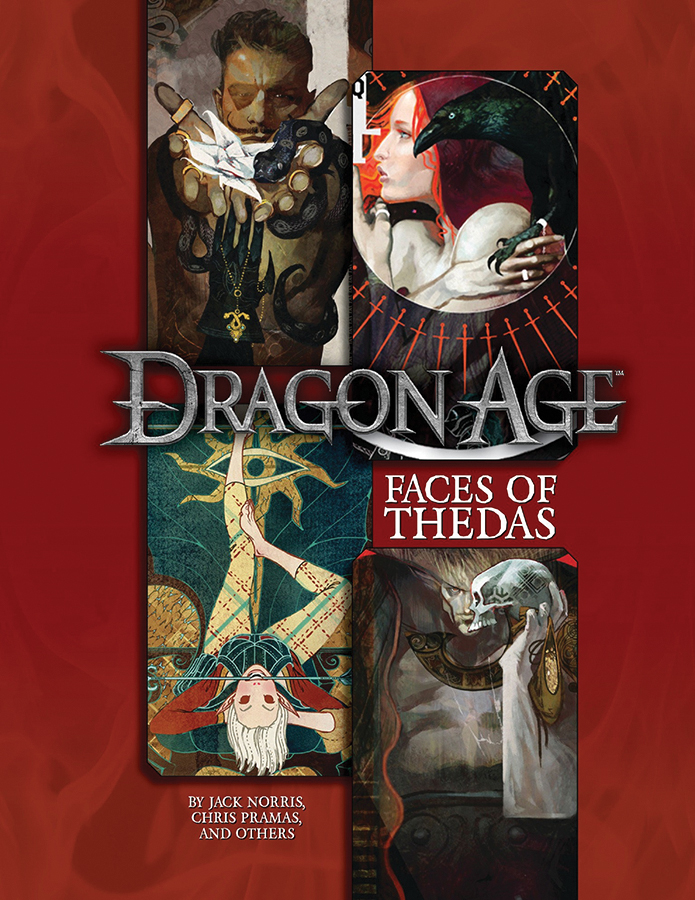 Dragon Age Rpg: Faces Of Thedas Sourcebook Box Front