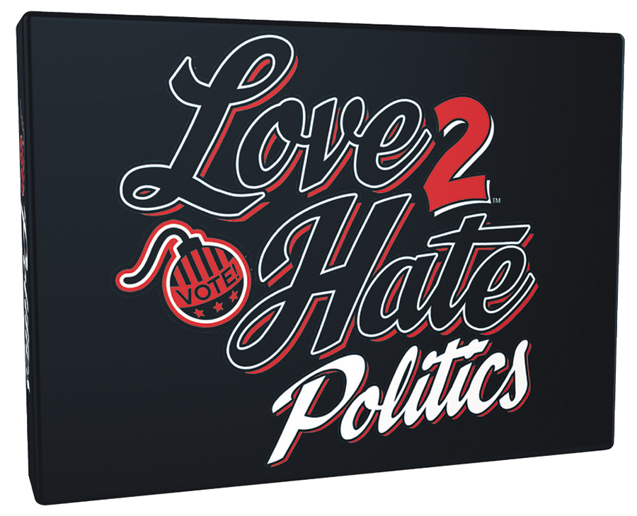 Love 2 Hate: Politics Expansion Box Front