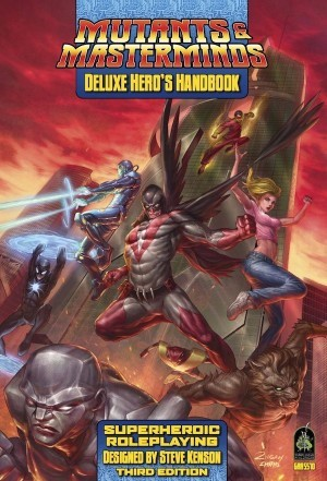 Mutants And Masterminds: Deluxe Heros Handbook Box Front